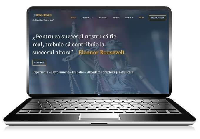 creare website avocat